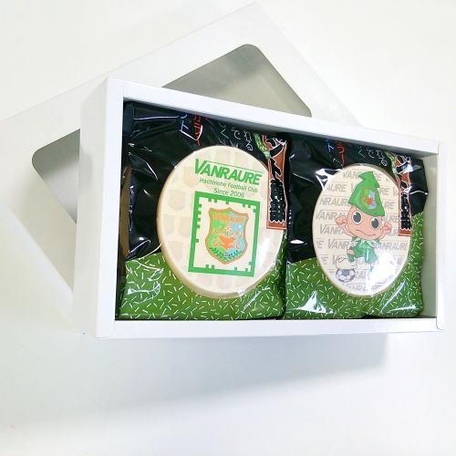 ヴァンラーレ八戸FCせんべい