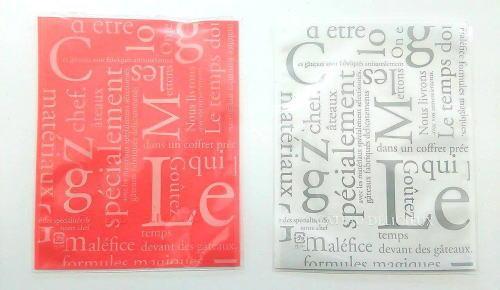 結婚ブライダルプチギフトせんべいの個装袋は赤と白の二種類があります。