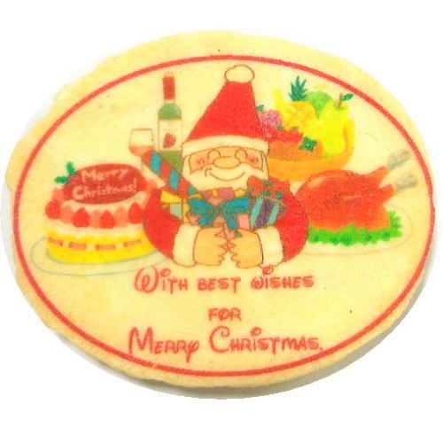 体に優しいバタークリスマスせんべい