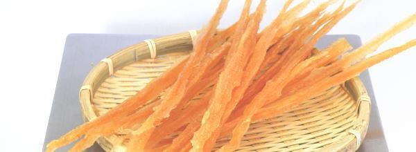 味付け帆立貝ミミ(ほたて貝ひも)の珍味の量り売り