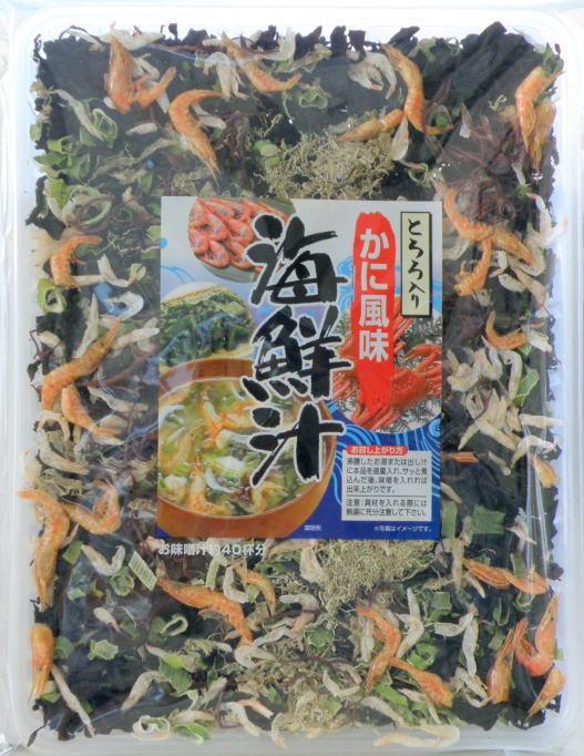 海鮮汁(とろろ入りカニ風味)