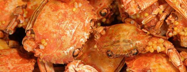 丸ごと食べる蟹、かにっ子