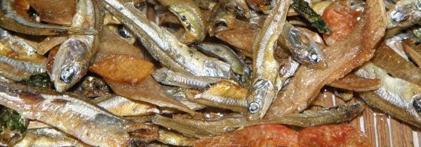 自然のカルシウム!小魚カルシウム