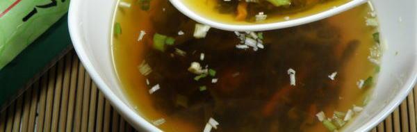 ネバネバが体に効くメカブスープ