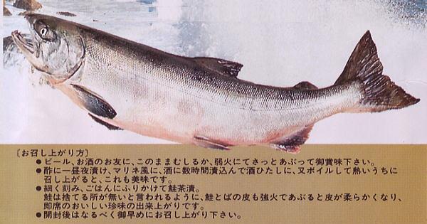 北海道産の秋鮭を使った鮭とば