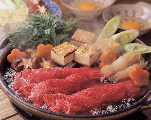 短角牛のすき焼きセット